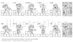 Résultat de recherche dimages pour coloriage 5 sens  les 5 sens