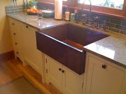 beautiful single copper farmhouse sink with bronze kitchen sink beautiful single copper farmhouse sink with bronze kitchen sink faucet and granite countertops also white kitchen