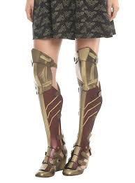 dc comics wonder woman 3 piece cosplay wedge boots topic