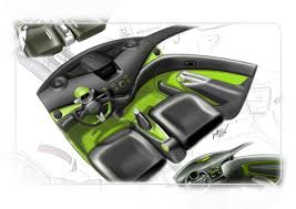 chevrolet spark interior design sketch car design 17454 on