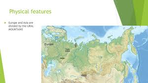 Russia Physical Map Physical Map by Russia And Central Asia Ppt Video Online Download