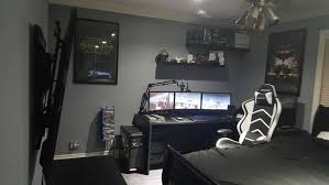 Gaming Room Setup New Look