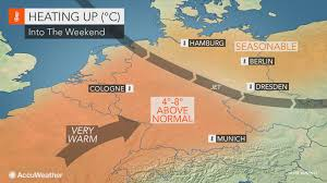 Southern Germany Map by Heat To Build Over Southern Germany Into The Weekend