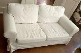 housse canapé blanc housse canape ikea d occasion