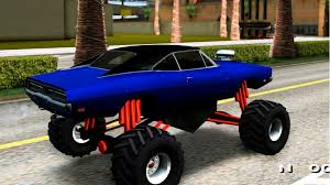 amphibious dodge truck gta san andreas 1969 dodge charger monster truck enromovies