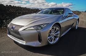 lexus lc 500 h concept driven 2017 lexus lc 500 and lc 500h autoevolution