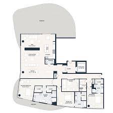 luxury penthouse floor plan