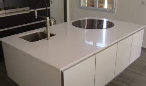 cuisine granit cuisine granit blanc stoneline granitier agenceur