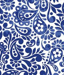 royal blue wrapping paper batik scroll royal blue gift wrapping roll 24 x 16