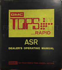 1979 gmc 1500 3500 truck repair shop manual pickup jimmy