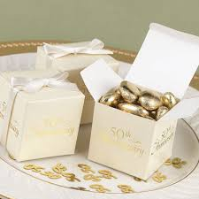 50th wedding anniversary favors wedding anniversary favor boxes pack of 25