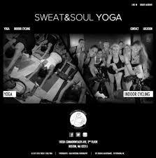 yoga u0026 indoor cycling web design samples patientmoon