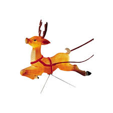 Outdoor Christmas Decorations Reindeer And Sleigh Outdoor Christmas Reindeer Decoration Decorations Cheapest Lights