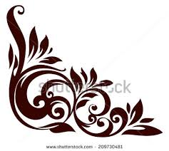vector illustration floral ornament design stock vector 209730481