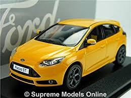 model ford focus ford focus st model car orange 1 43 scale minichamps dealer