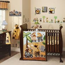 Team Safari Crib Bedding Lambs Safari Express 9pc Crib Bedding Set Baby Nursery