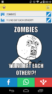 Zombie Meme Generator - memegene meme generator apps on google play