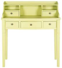 safavieh landon writing desk white amh6516f desks furniture by safavieh
