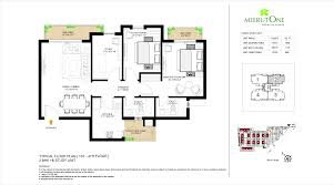 apartment floor plans 2 bhk 3 bhk apartments meerut meerutone in