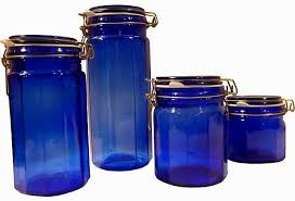 fashioned kitchen canisters blue kitchen canister sets 4 home decoration i office decoration
