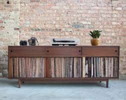 mid century record cabinet record cabinet etsy