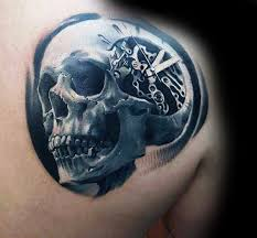 50 3d skull designs for cool cranium ink ideas