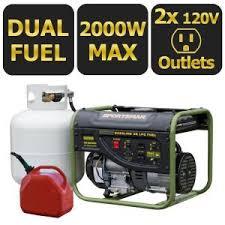 home depot black friday generator sportsman 2 000 watt gasoline powered portable generator 801309