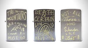 zippo design engraved zippo lighters hiconsumption