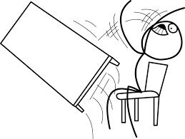 Fliping Table Meme - throw desk diyda org diyda org