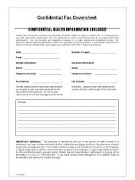 confidential fax cover sheet 4 free templates in pdf word
