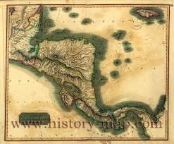 Map Of Middle America by Map Of Central America