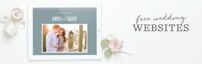 wedding websites 100 free wedding websites match your colors style basic invite