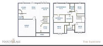 2 story floor plans with basement two story hatch lake valparaiso