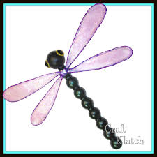 craft klatch dragonfly with resin wings home decor diy project