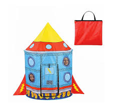 amazon com liteaid rocket ship tent toys u0026 games
