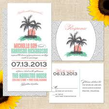 wedding invitations island wedding invitations