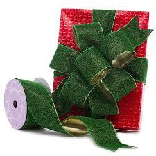 sided ribbon green sparkle lamé sided ribbon