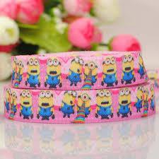 minion ribbon popular minion ribbon pink buy cheap minion ribbon pink lots from