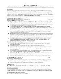 hvac sample resume resume samples and resume help