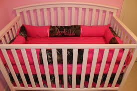 Pink Mossy Oak Comforter Set 7pc Camo Mossy Oak Fabric U0026 Pink Crib Bedding Nursery Set With