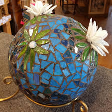 Copper Gazing Ball Classes Down Home Stained Glass 734 East Main St Anoka Mn 55303