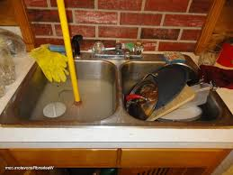 Sink Clogged Kitchen Kitchen Sink Clogged Ging Drains Bathtub Clogged