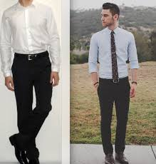 which color u0027s shirt should wear on black dress pant clothing