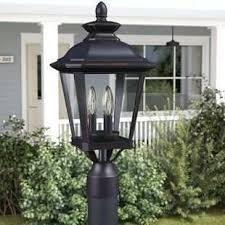 outdoor light pole mount outdoor light pole mount new l post lights you ll love lighting