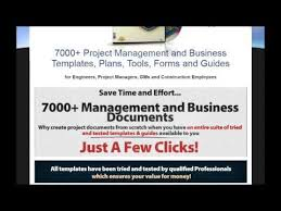 7000 project management and business templates plans tools