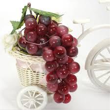 Grapes Home Decor Aliexpress Com Buy Lifelike 22 85pcs Grain Artificial Grapes