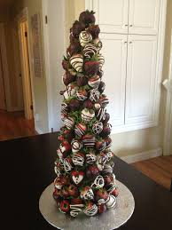 chocolate covered strawberry tree from the the berry bouquet www