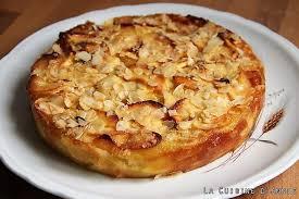 cuisine gateau aux pommes recette gâteau aux pommes aux amandes la cuisine familiale un