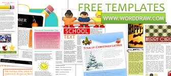 templates for word newsletters newsletter templates free microsoft word daway dabrowa co