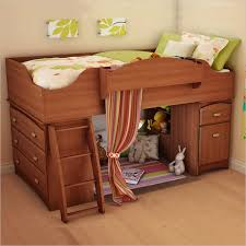 Wooden Loft Bunk Beds South Shore Imagine Loft Bed In Cherry Wood
